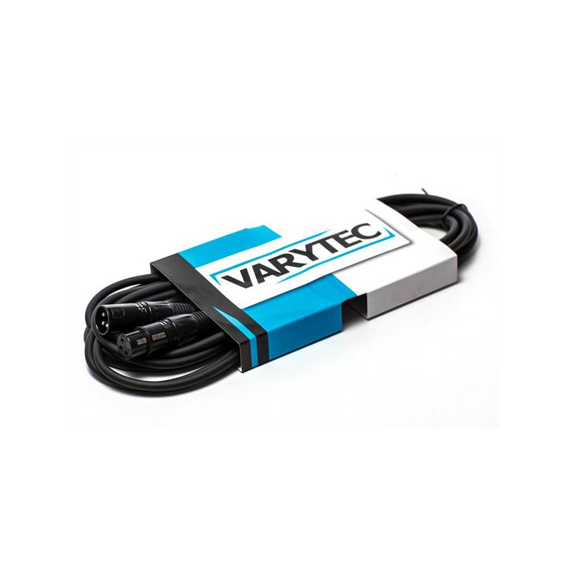 VARYTEC Kabel DMX 110 Ohm 3pol male/female 3m