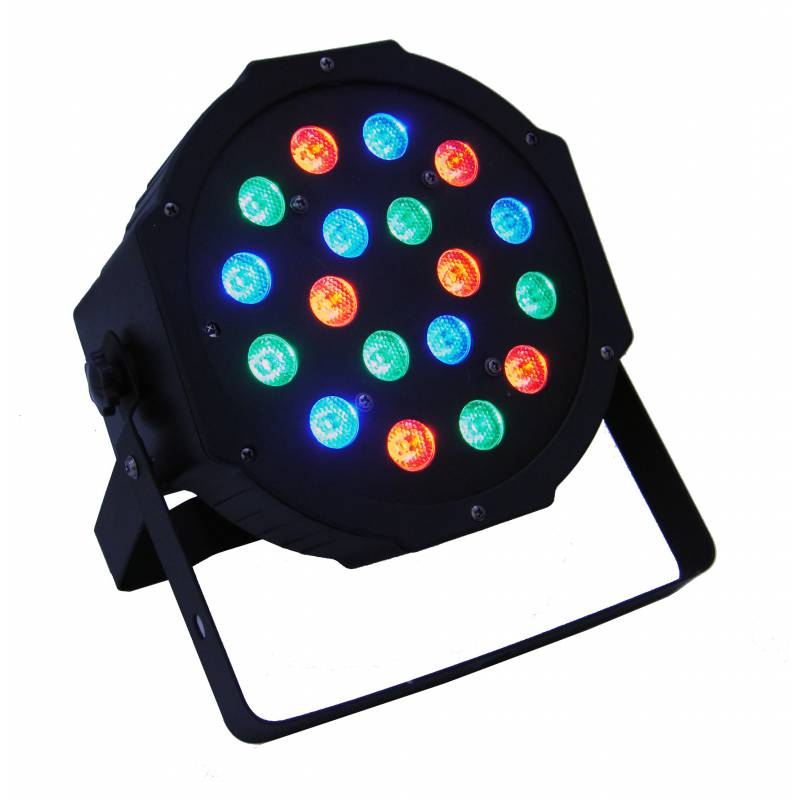 LED PAR 56 SLIM 18x1W RGB