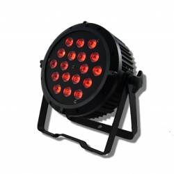 LED FLAT PAR 18x10W RGBW 4in1 Floor